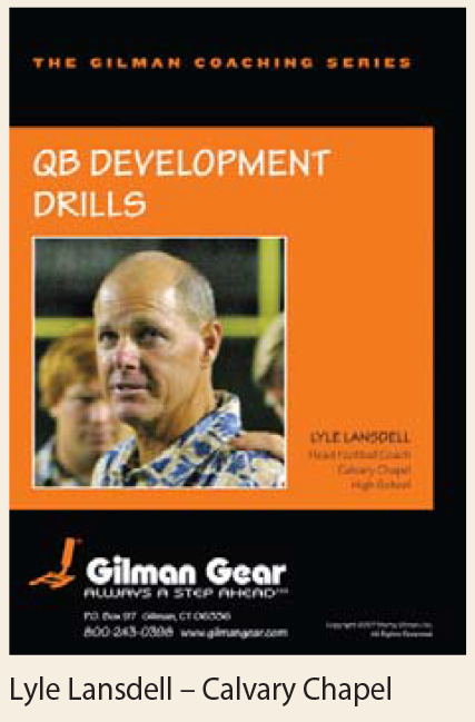 Coaching Series, Instructional DVD, Quarterback Development Drills, Lyle Lansdell, Calvary Chapel