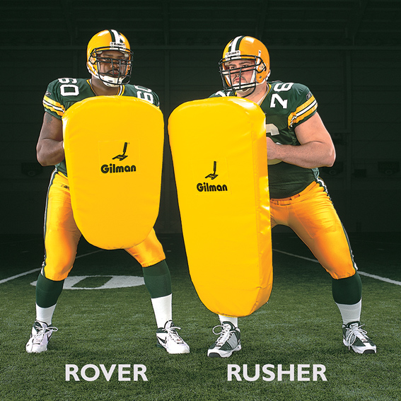 Rover hand shields - football shields LARGE