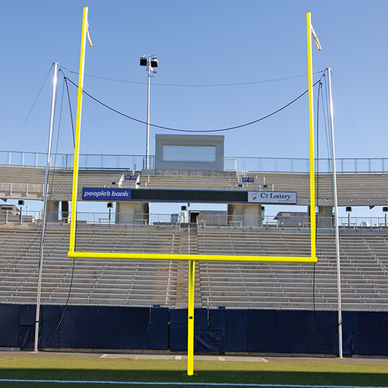 Sky Poles for End Zone Net