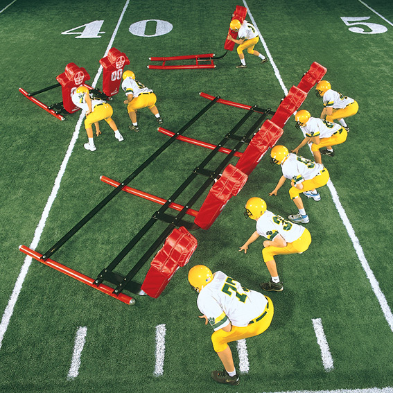 7-Man Sub-Varsity Sled - sub varsity football sled LARGE