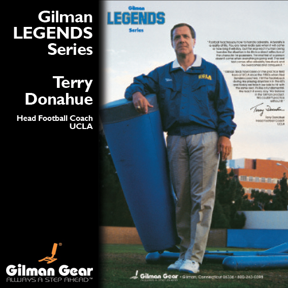 Terry Donahue - Gilman Legends Posters