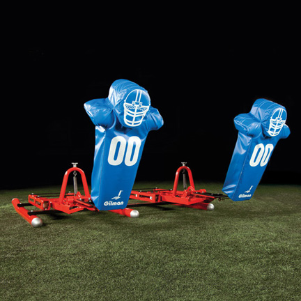 2-Man Thrustback Sled - football sled, basketball sled THUMBNAIL