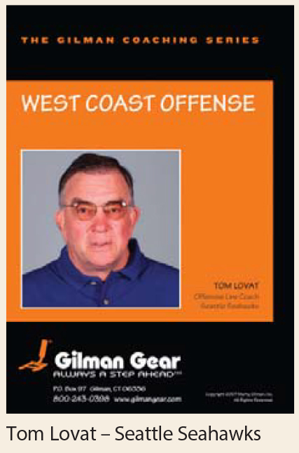 Coaching Series Instructional DVD: West Coast Offense- Tom Lovat, Seattle Seahawks LARGE