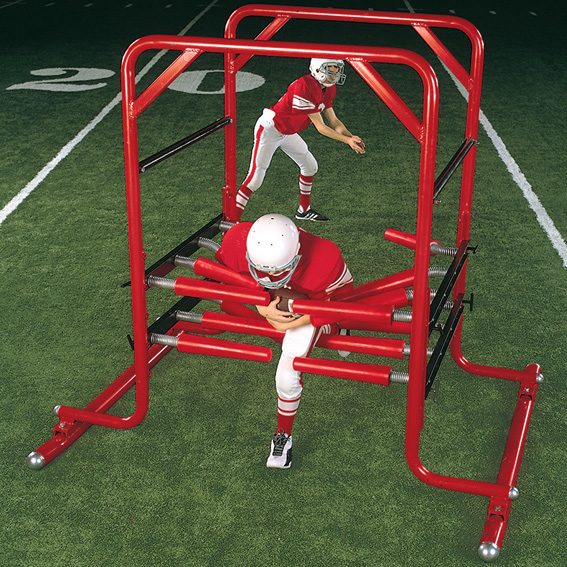 youth gauntlet machine - youth football machines