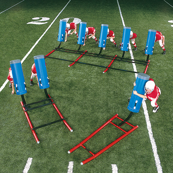 7-Man Youth Sled - Peewee football sled
