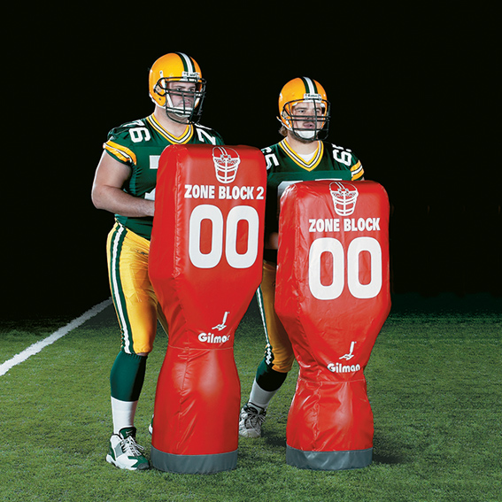Zone Block 2 Football Dummy - Zone Block Dummy LARGE