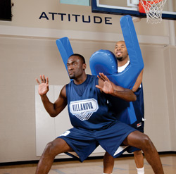 The Shot Blocker - basketball training dummy