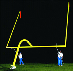 Hinged Goal Posts
