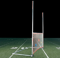 Portable H Goal for football LARGE