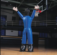 The Big John Blocking Dummy - basketball dummy, basketball blocking dummy