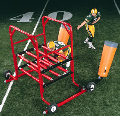 The Gauntlet 2-Man Sled, Gauntlet 2 Man, 2 Man Sled, football gauntlet, football sled, football machine_LARGE