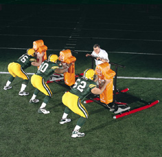 3 Man Sled, football sled, exercise sled, NFL sled