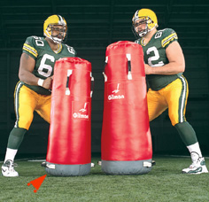 Standback V2 Dummy - football dummy LARGE