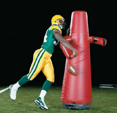 Fightback Dummy - football dummy - pop-up dummy THUMBNAIL