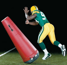 Comeback Dummy - football pop-up dummy THUMBNAIL