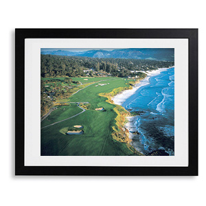 PEBBLE BEACH NO. 9, 10, 11 - by Stephen Szurlej