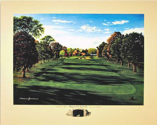 Winged Foot 9th West by Grandison THUMBNAIL