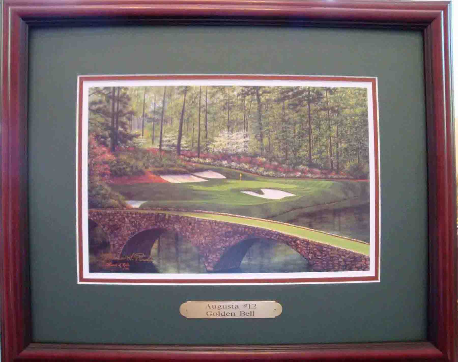 Augusta 12th by Rule ready to hang THUMBNAIL