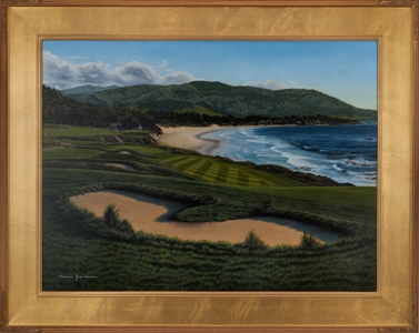 Pebble Beach 9th Hole by Grandision