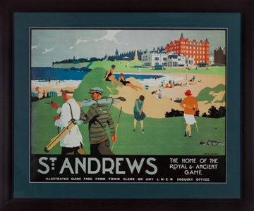 St Andrews Travel Poster