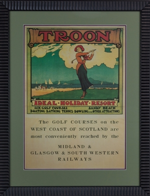 Royal Troon Travel Poster MAIN
