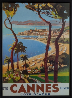Cannes Travel Print