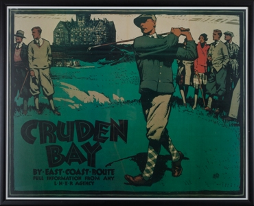 Cruden Bay Travel Poster
