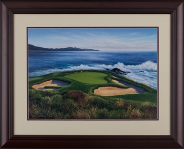 Pebble Beach 7th hole by Marci Rule