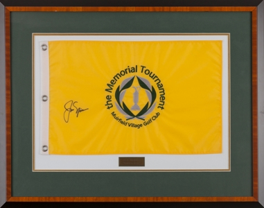 Jack Nicklaus Autographed Flag MAIN