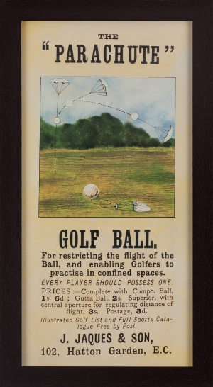 """The Parachute"" Golf Ball MAIN"