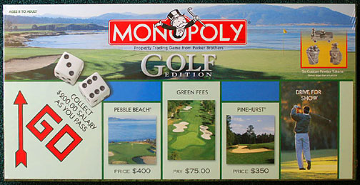 Monopoly - Golf Edition