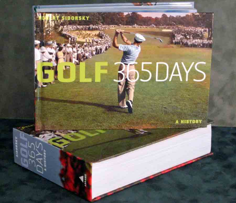 Golf 365 Days Photo book