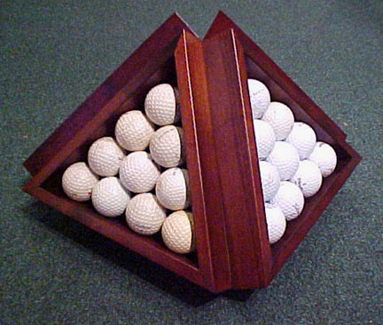 Golf Ball Pyramid THUMBNAIL