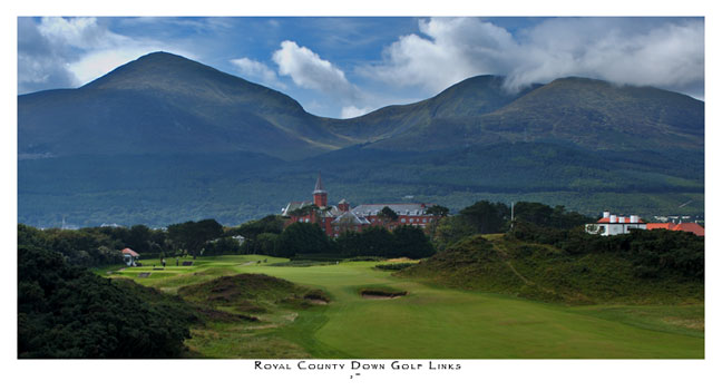 Royal County Down 9th (Slieve Donard) by Rooney
