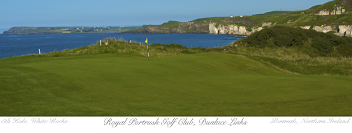 Royal Portrush 5th by Rooney