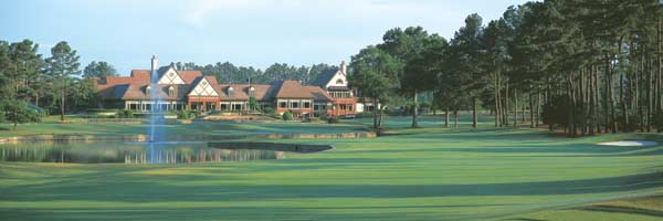 Atlanta Athletic Club 18th by Drickey