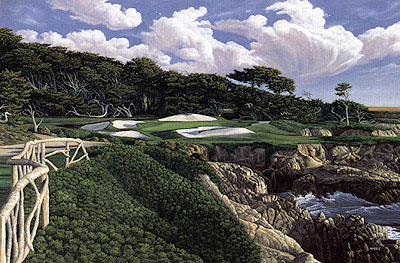 Cypress Point 15th by Harris