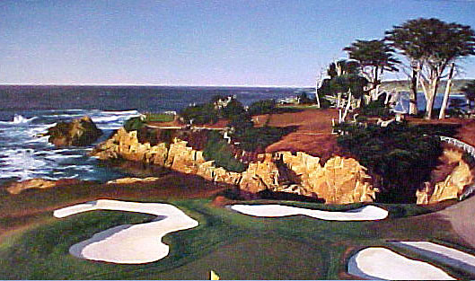 Cypress Point 15th by Day