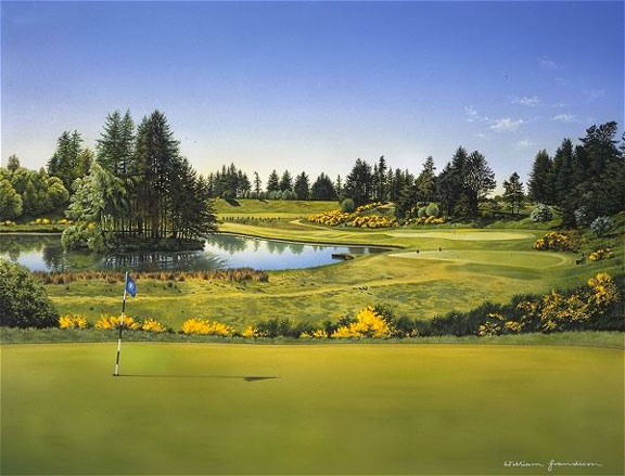 Gleneagles (Queens Course) by Grandison THUMBNAIL