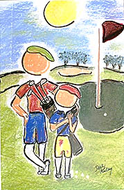 Golfing with Dad THUMBNAIL
