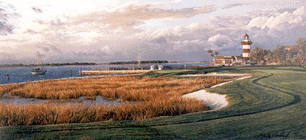 Harbour Town 18th by Hartough THUMBNAIL