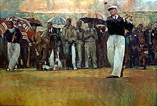 Hogan at Carnoustie by Harrington THUMBNAIL