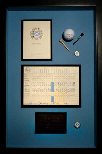 Hole-in-One Display