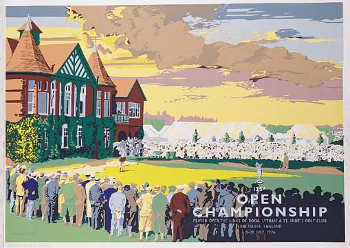 British Open  1996 by Reed