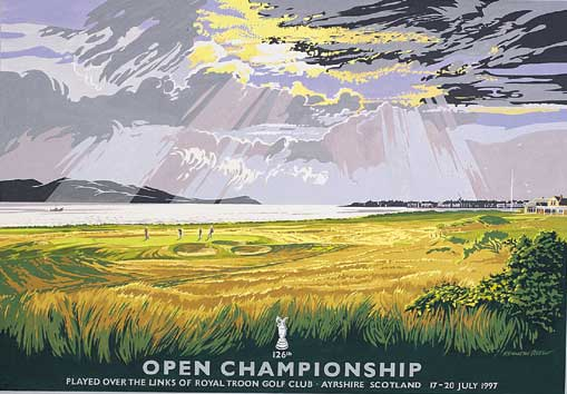 British Open  1997 by Reed