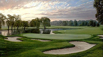 Oakland Hills 16th by Hartough