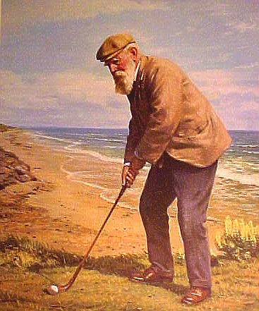 Old Tom Morris by Weaver