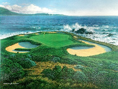 Pebble Beach 7th by Grandison MAIN