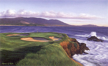 Pebble Beach 7th by Rule THUMBNAIL