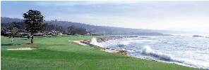 Pebble Beach 18th by Drickey THUMBNAIL